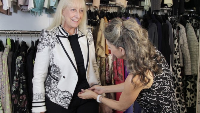 Fashion for Women Over 60 - Dress and Part 2