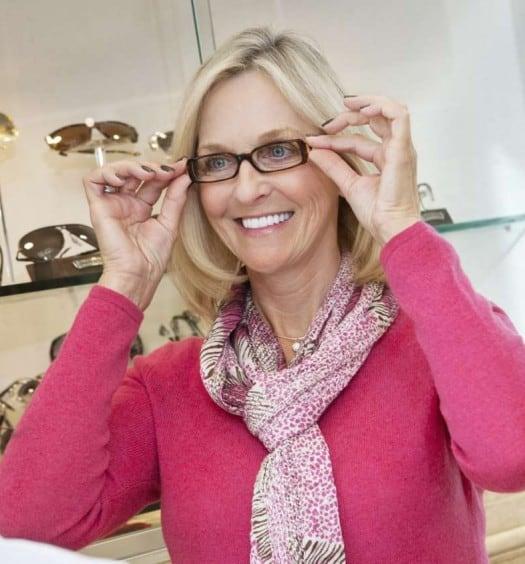 Fashionable Glasses for Older Women