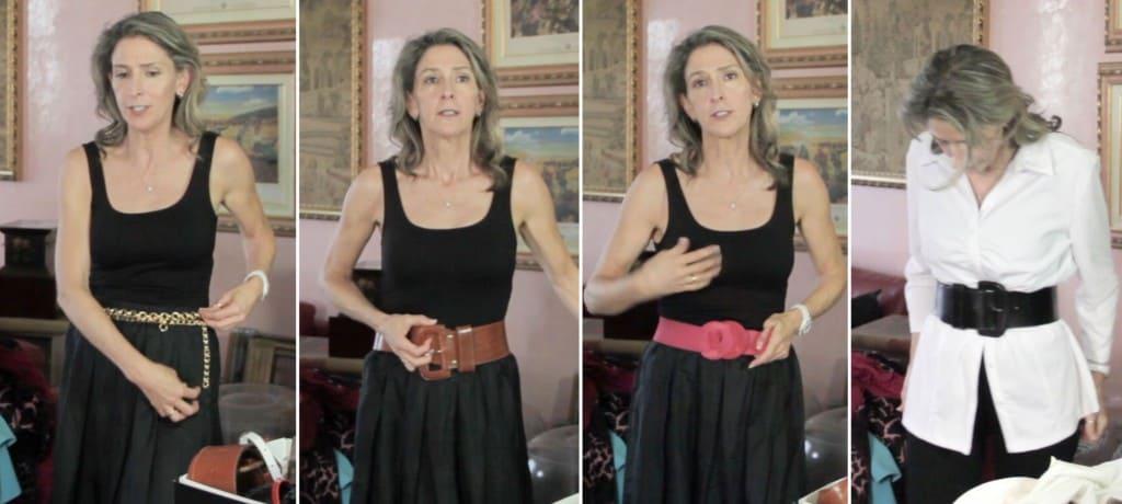 Fashion for Older Women - Belt Problems