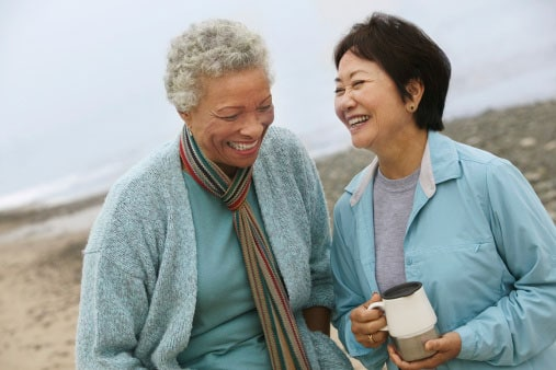 healthy aging - positive people