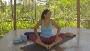 Yoga for Seniors - Legs Demonstration
