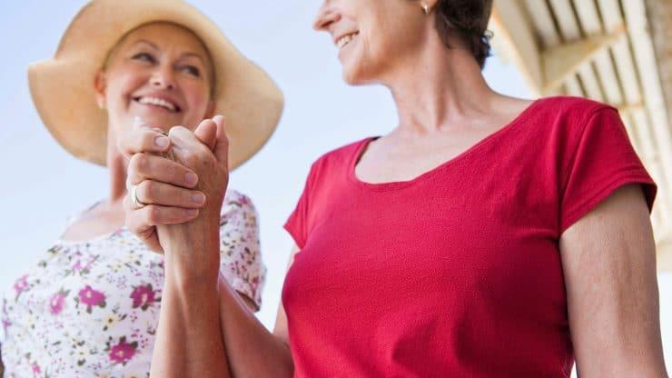 Friends older adults intimacy