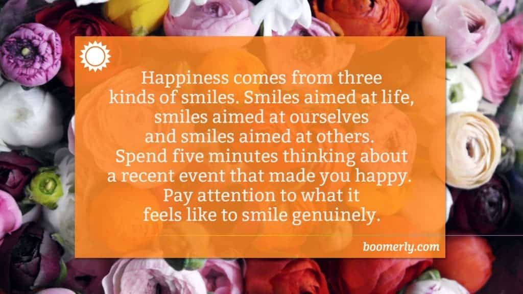 Get More from Life After 60 by Smiling