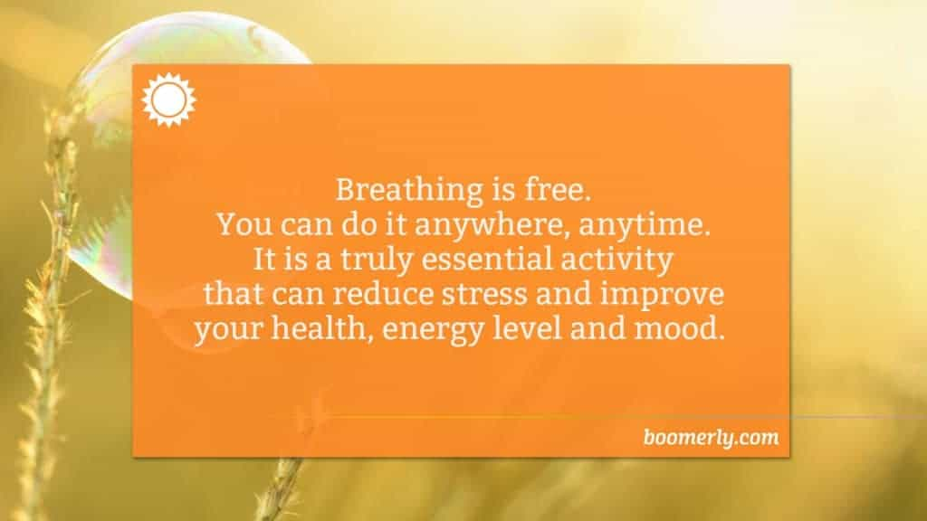 Breathing Exercises Can Help You to Get More from Life After 60