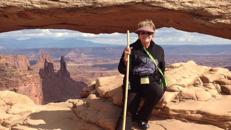 Solo Female Traveler Road Scholar Peg