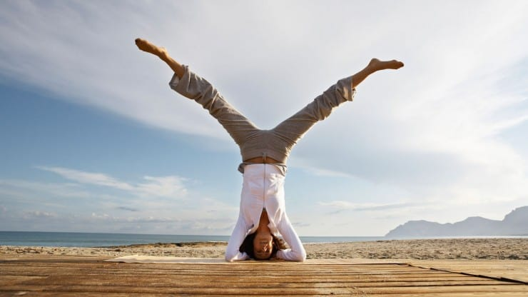 Sixty and Me - Turning Yourself Upside Down to Find Balance After 60