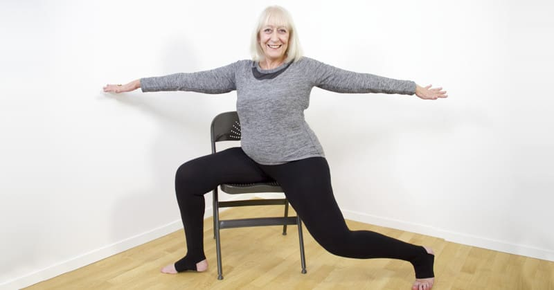 Sixty and Me Gentle Chair Yoga DVD
