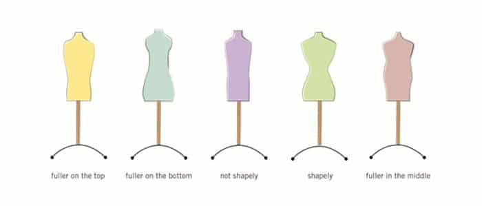 Body shapes - Fashion for women over 60