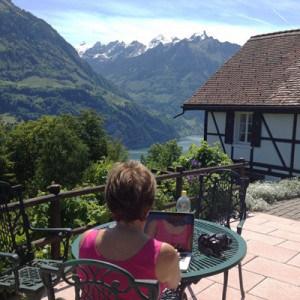 Notre vue fabuleuse, échange de 2 semaines dans les Alpes suisses