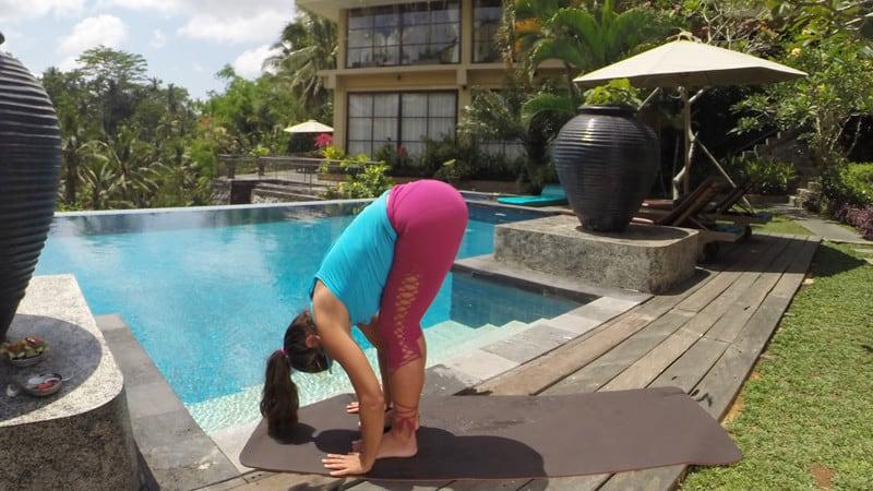 Yoga for Osteoporosis - Forward Fold