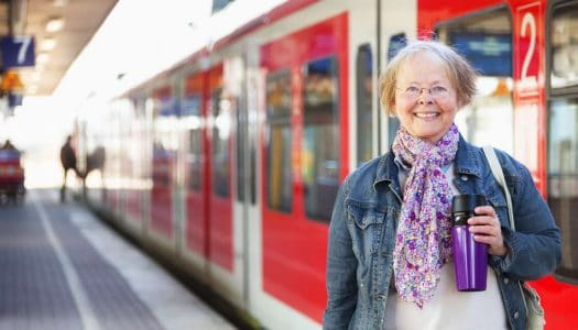 Five Great Train Journeys for Women Like Us (Video)
