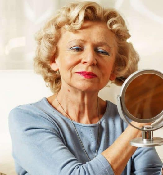 Bold Makeup Looks for Older Women