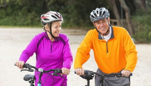 Save Those Knees – 6 Tips for Senior Cycling