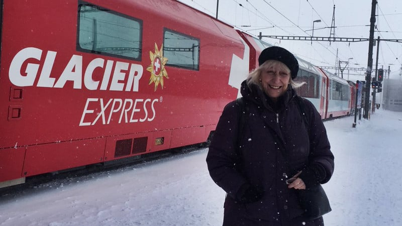 Train travel Glacier Express