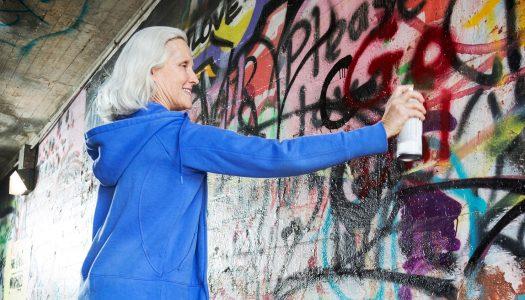 """""""Graffiti Grandmas"""" Show that Hobbies for Women Over 50 Are Evolving"""