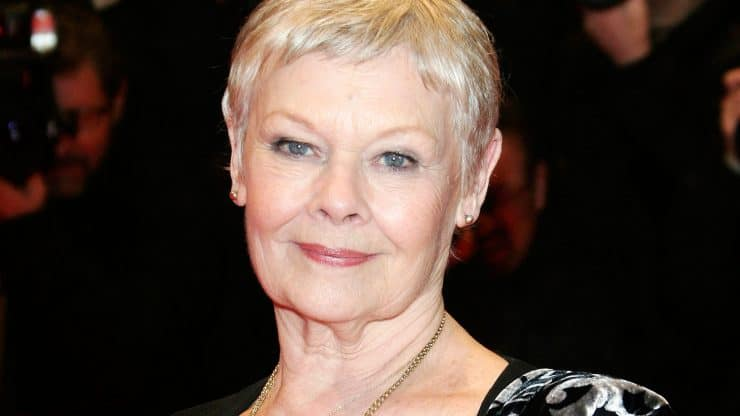 Judi Dench's New Tattoo