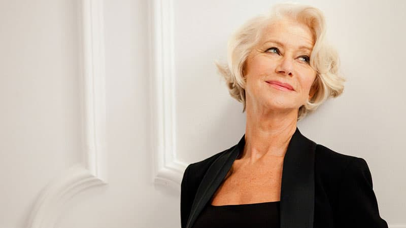 Helen Mirren for L'Oreal