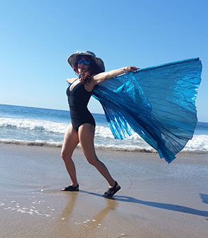 Janai on the beach