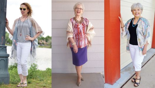 Kimono Jackets as a Summer Fashion Trend for Women Over 60