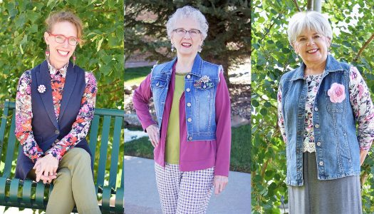 Why Brooches Are Hot When it Comes to Fall Fashion for Women Over 60