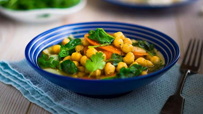 healthy eating after 60 - chickpeas