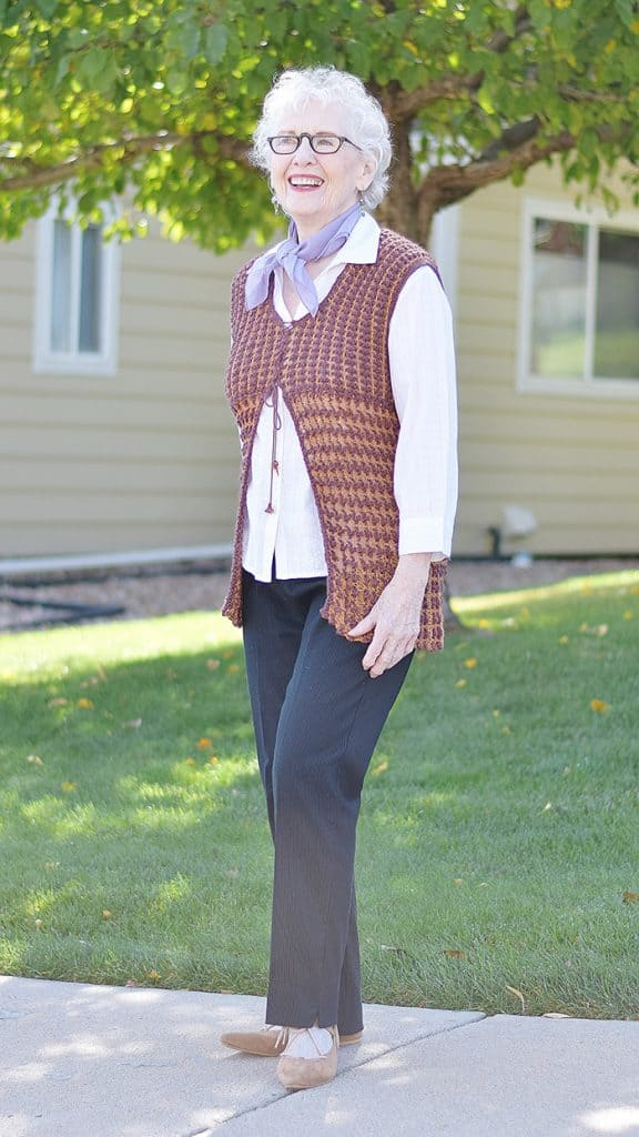 Neck Scarves Are an Awesome Fashion Trend for Women Over 60