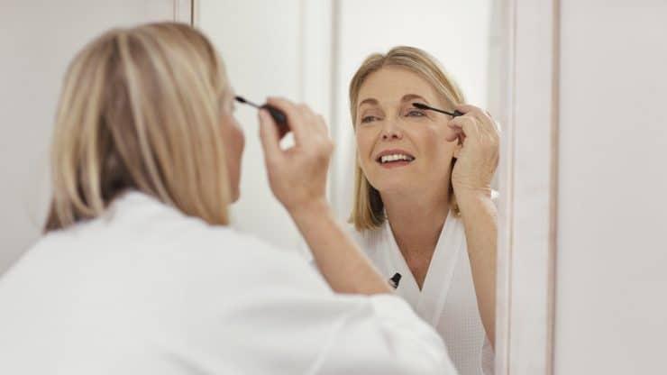 Volume Mascaras Makeup for Older Women