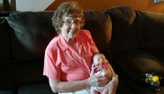 This 86-Year-Old Woman Has More Great-Grandkids Than Candles on Her Cake!
