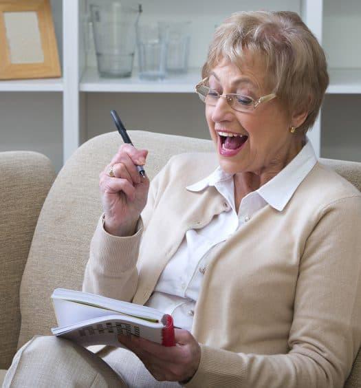 Mature Woman Crossword-Puzzles