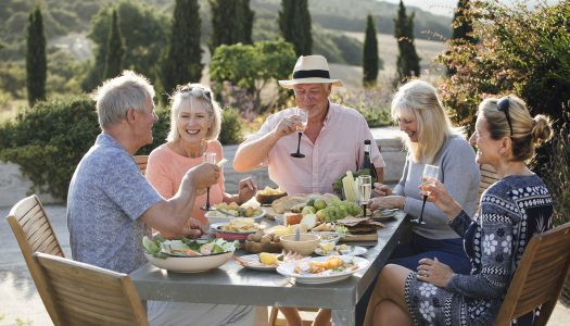 Reconnecting with Friends Over a Bottle of Wine in Barossa Valley, Australia