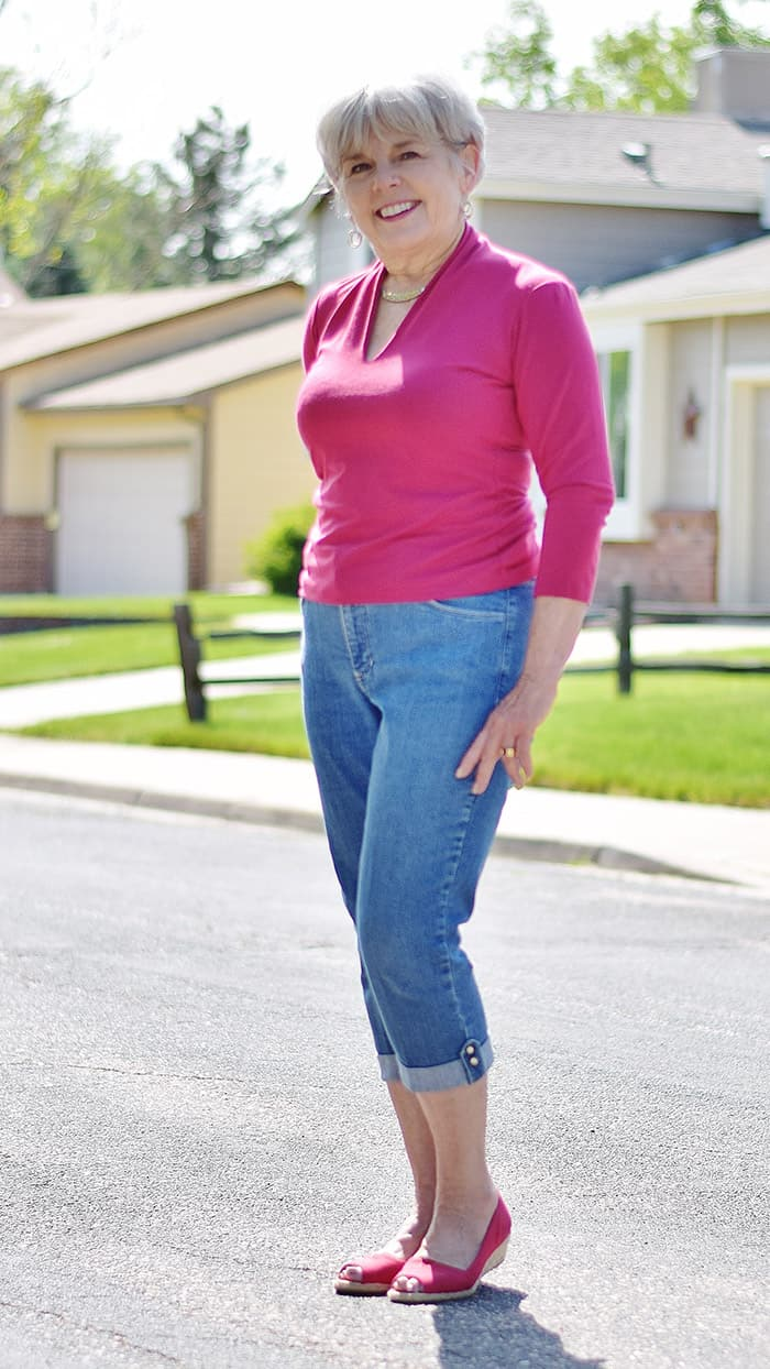 Mature women tight jeans