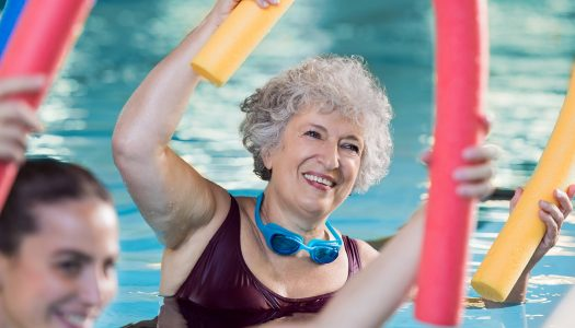 10 Wonderful Water Workouts for Better Fitness After 50