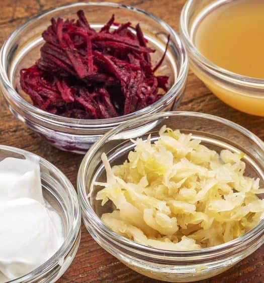 fermented food probiotics memory