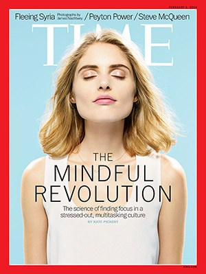 Time magazine cover mindfulness