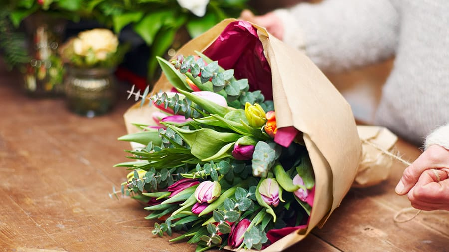 60th Birthday Gift Ideas for Women Over 60 - Flowers