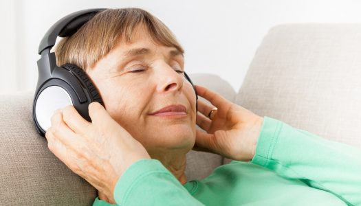 Reducing Stress in Your 60s: Capturing a Moment of Rest Through Music