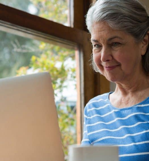 Senior woman Write-a-Book
