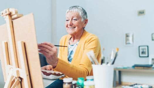Want to Start Painting After 60? Try Acrylics First!