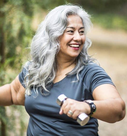 older body senior woman