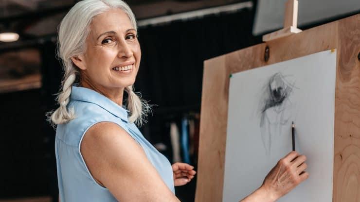 hobbies for women over 60