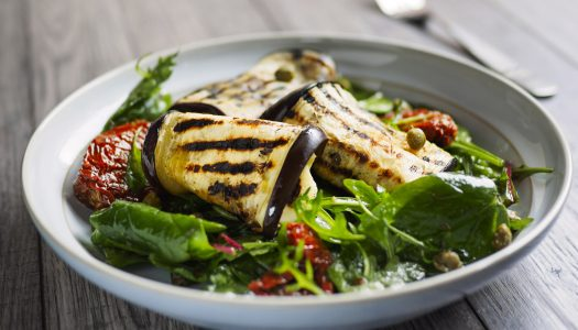 A Recipe for Eggplant Delight and the Secret of Eating Healthfully While Saving Money