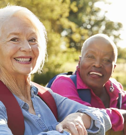 senior woman retirement lifestyle