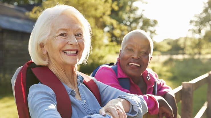senior woman retirement lifestyle