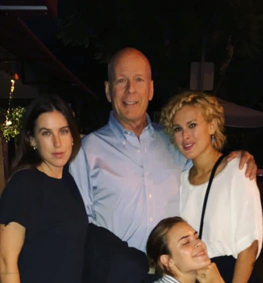 Bruce Willis and Demi Moore Reunite to Celebrate Daughter's 30th Birthday