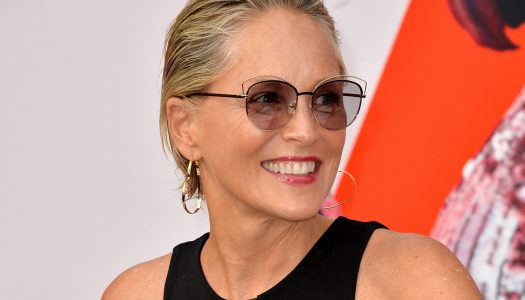 Sharon Stone Brings the 70's Back Into Style!