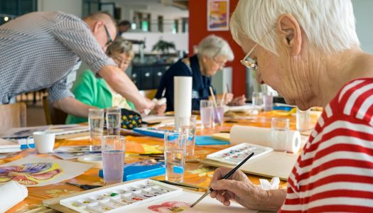 How the Arts Can Reduce Anxiety and Be of Emotional Benefit to Older People