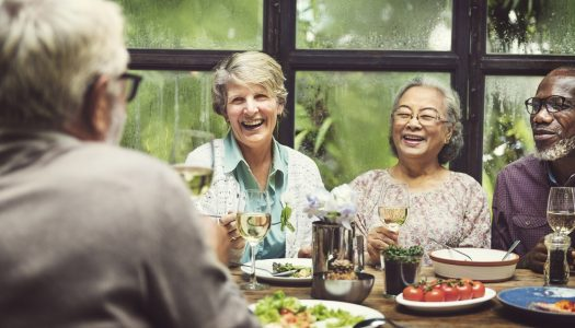 Tired of Yelling Over Your Meal? Here's How to Find a Quiet Senior-Friendly Restaurant