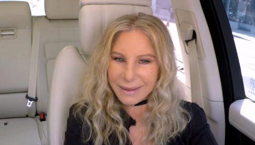 Barbra Streisand Gives James Corden a Legendary Lift