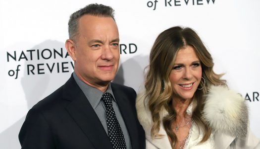 Tom Hanks Only Has Eyes for His Red-Hot Wife