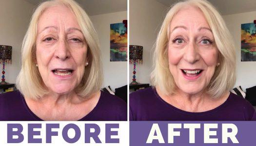 "My ""Trend It Up"" Makeup for Women Over 60 Tutorial – Under $25! :)"